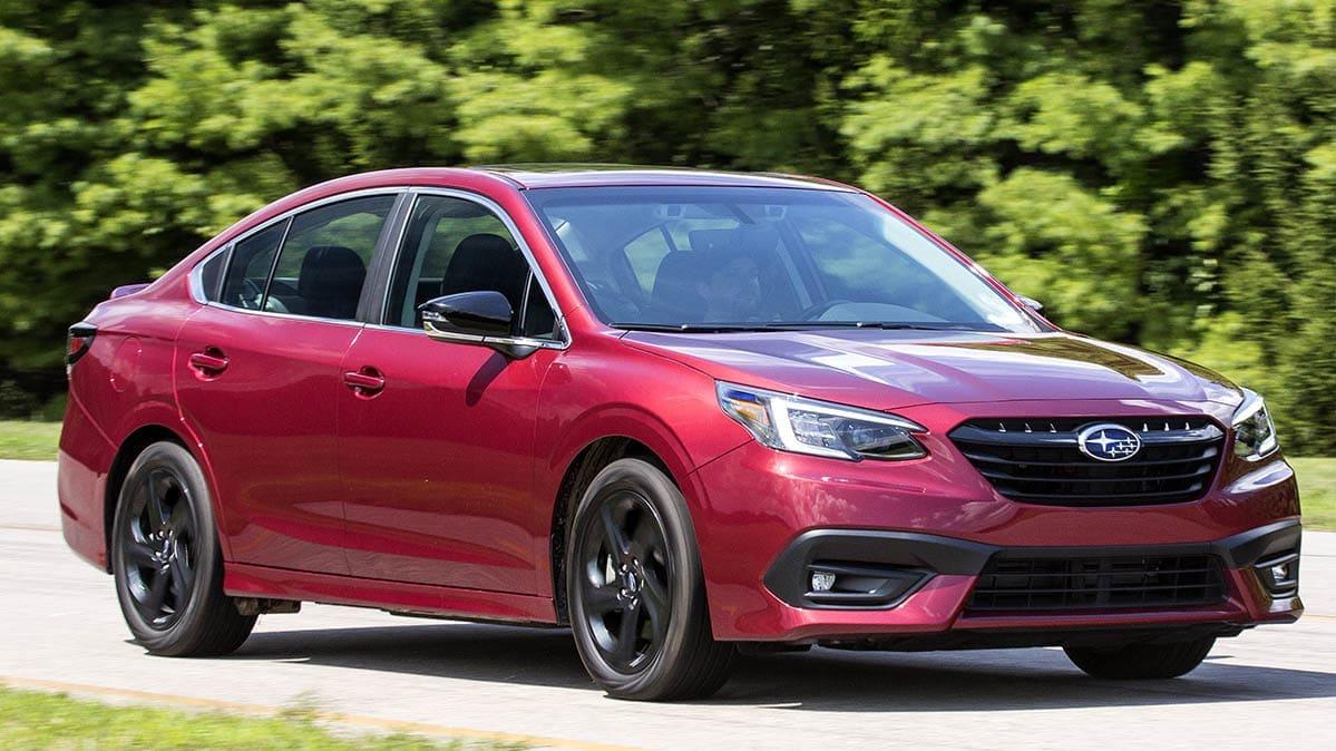 2020 Subaru Legacy Ride and Handling Shine - Consumer Reports