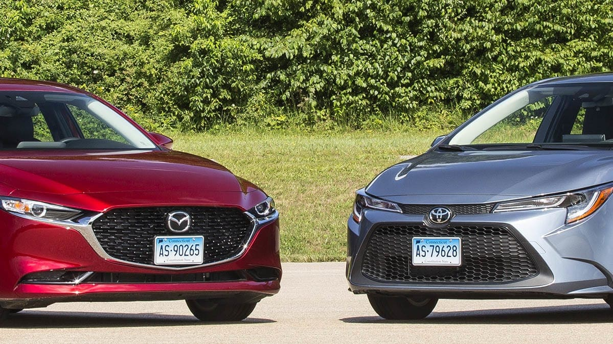 Face-Off: Mazda3 vs. Toyota Corolla