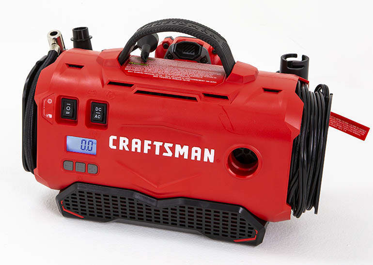Craftsman cordless air inflator