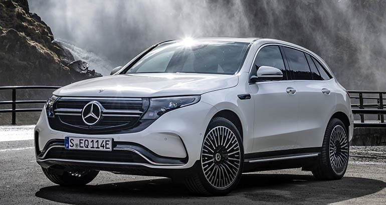 Mercedes-Benz EQC is coming soon