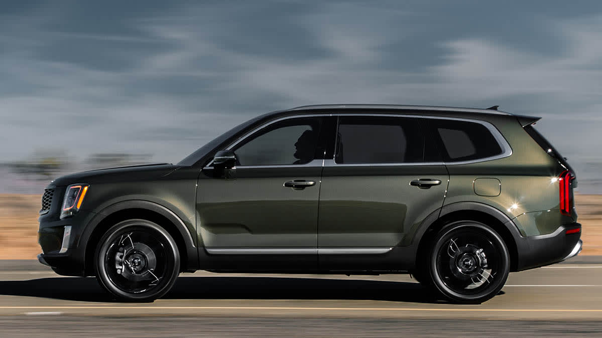2020 Kia Telluride—may be in shorter supply during the coronavirus pandemic, but not out of stock.