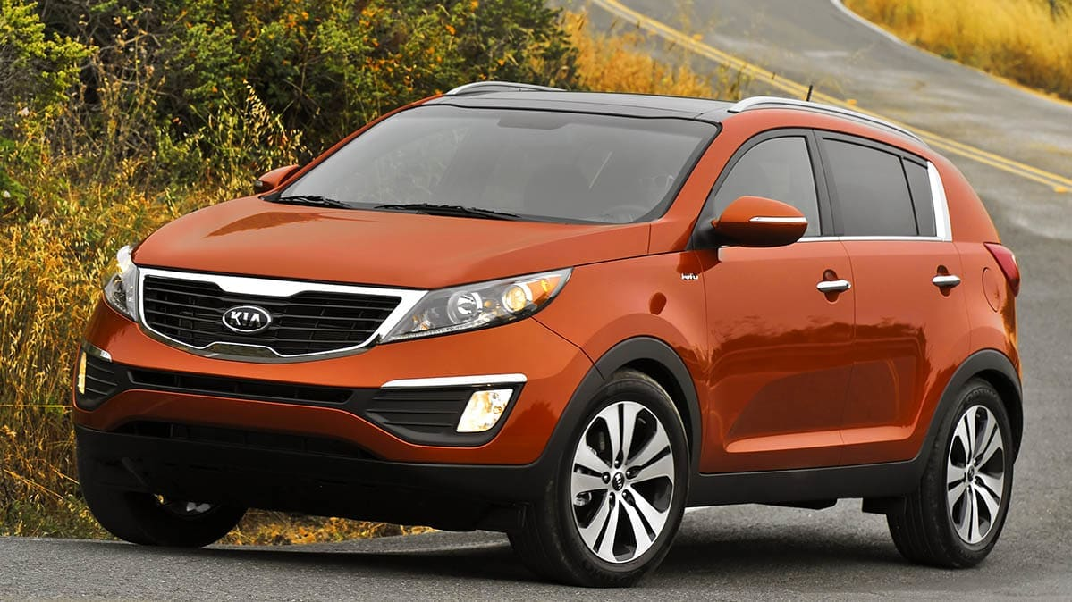 2012 Kia Sportage is included in the Hyundai and Kia recall