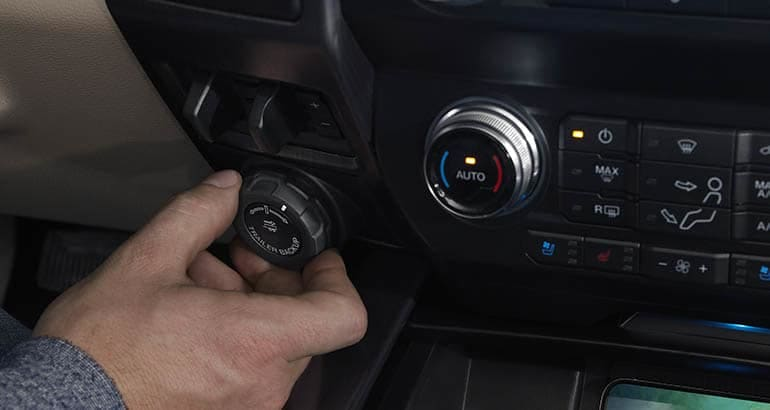 2020 Ford Super Duty backup control for trailers