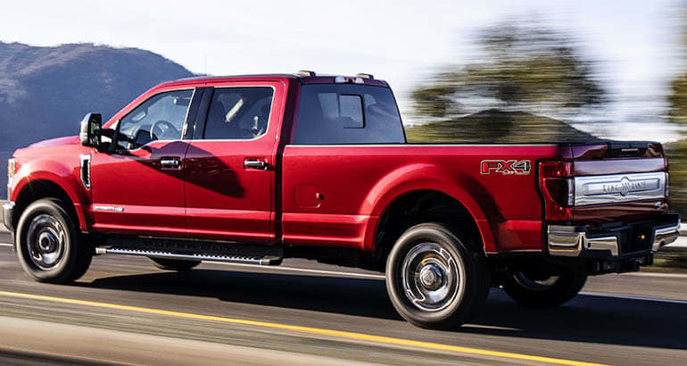 2020 Ford Super Duty Pickup Truck rear