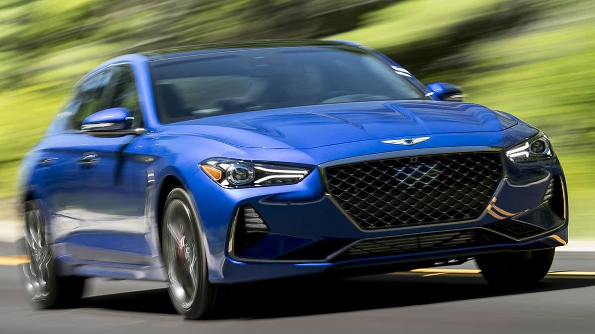 Owner satisfaction by brand - Genesis G70