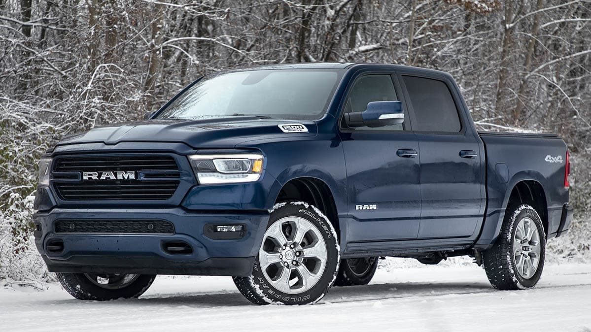 2019 Ram 1500 recall: this Ram truck, if equipped with adjustable pedals, may be subject to a recall