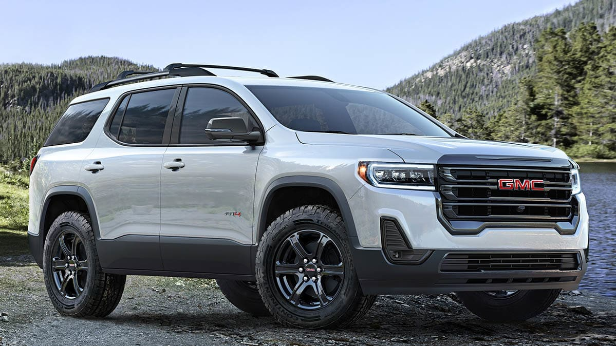 Freshened 2020 GMC Acadia Adds a Turbo Engine - Consumer ...