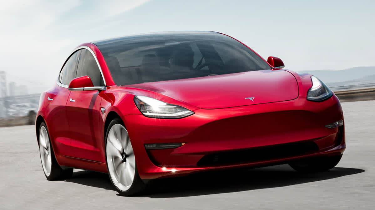 Tesla Model 3 Starting Price Drops