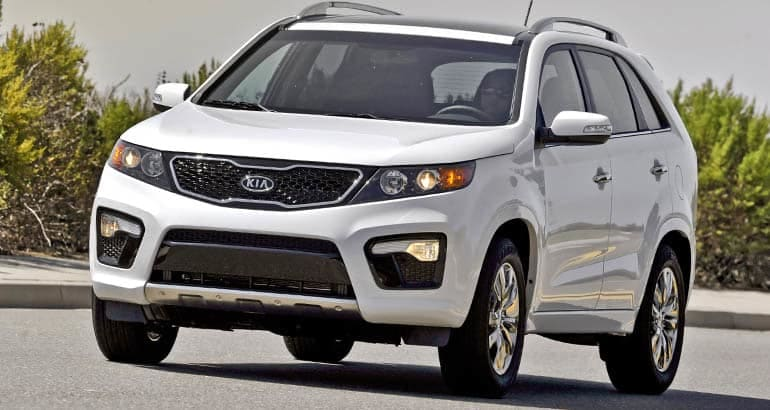 2012 Kia Sorento included in latest Kia recall for fire risk