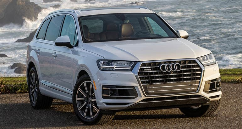 Best Cars for Active Families - Audi Q7