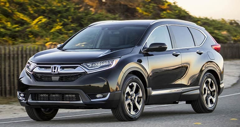 Honda CR-V - Best Cars for Savvy Seniors