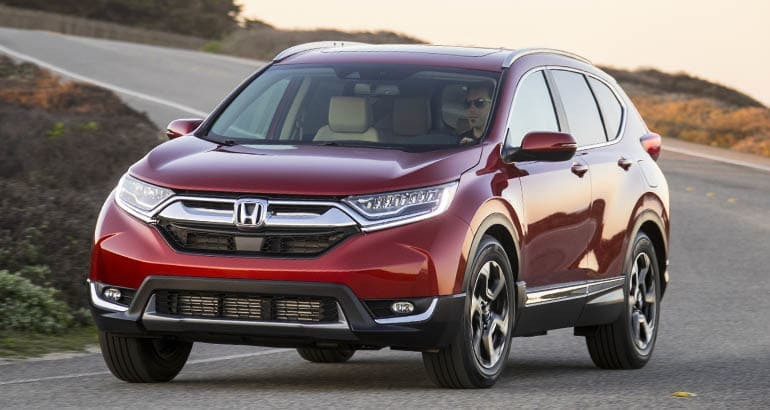 Honda CR-V - Best Cars for New Families