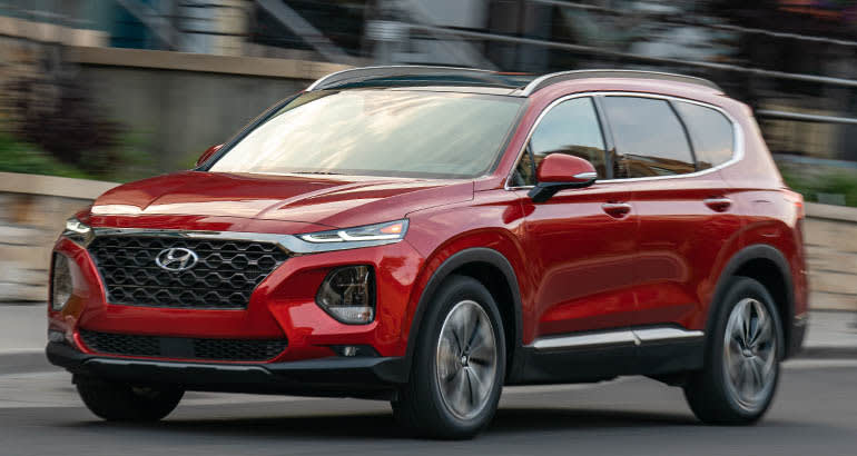 Hyundai Santa Fe - Best Cars for Savvy Seniors