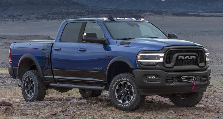 2019 Ram HD Power Wagon pickup truck