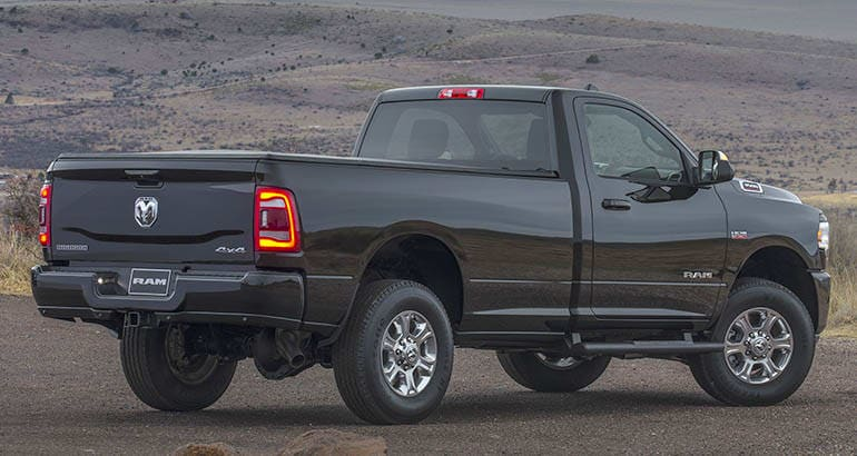 2019 Ram HD pickup truck rear
