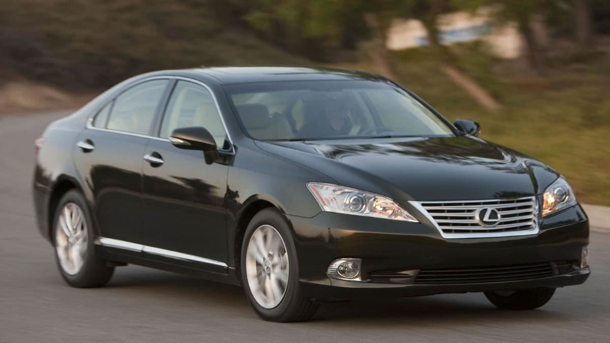 2010 Lexus ES in in the latest Takata recall
