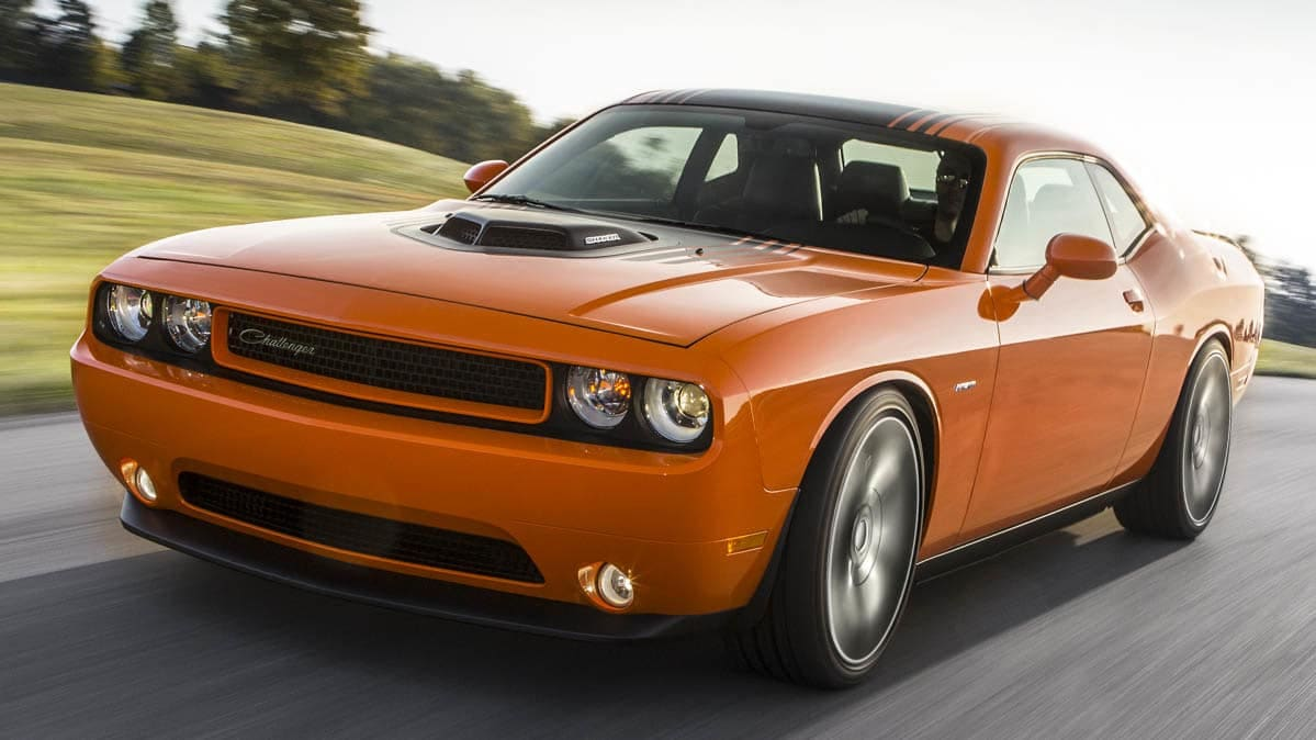 2014 Dodge Challenger involved in the Takata airbag recall