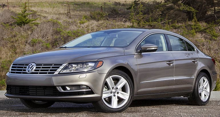 Volkswagen recall for the 2015 Volkswagen CC due to airbag concerns