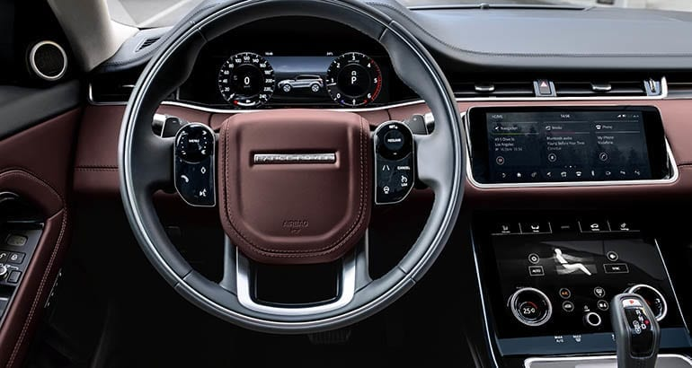 2020 Land Rover Range Rover Evoque interior