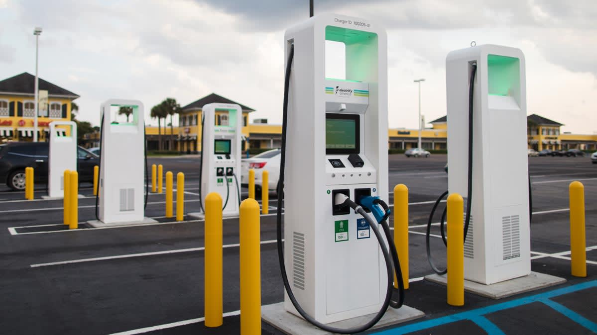 Electric Car Charging Stations Locations >> How The Electric Car Charging Network Is Expanding