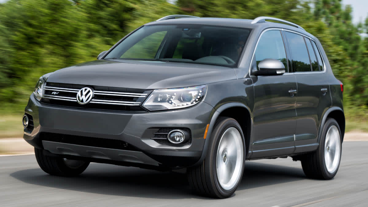 Volkswagen recall for the 2015 Volkswagen Tiguan due to airbag concerns