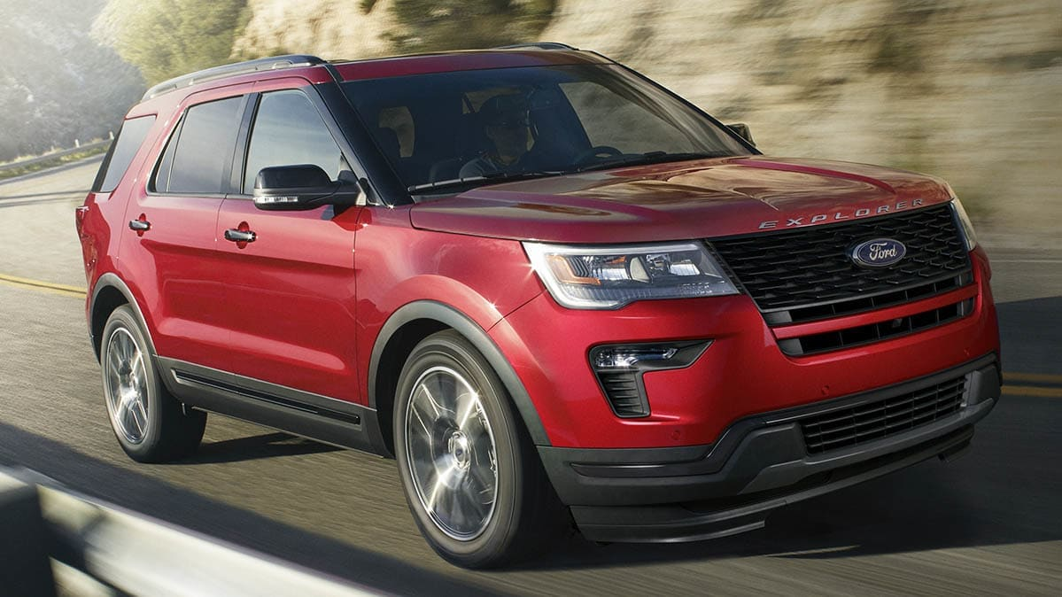 Ford Recall involves the 2020 Ford Explorer