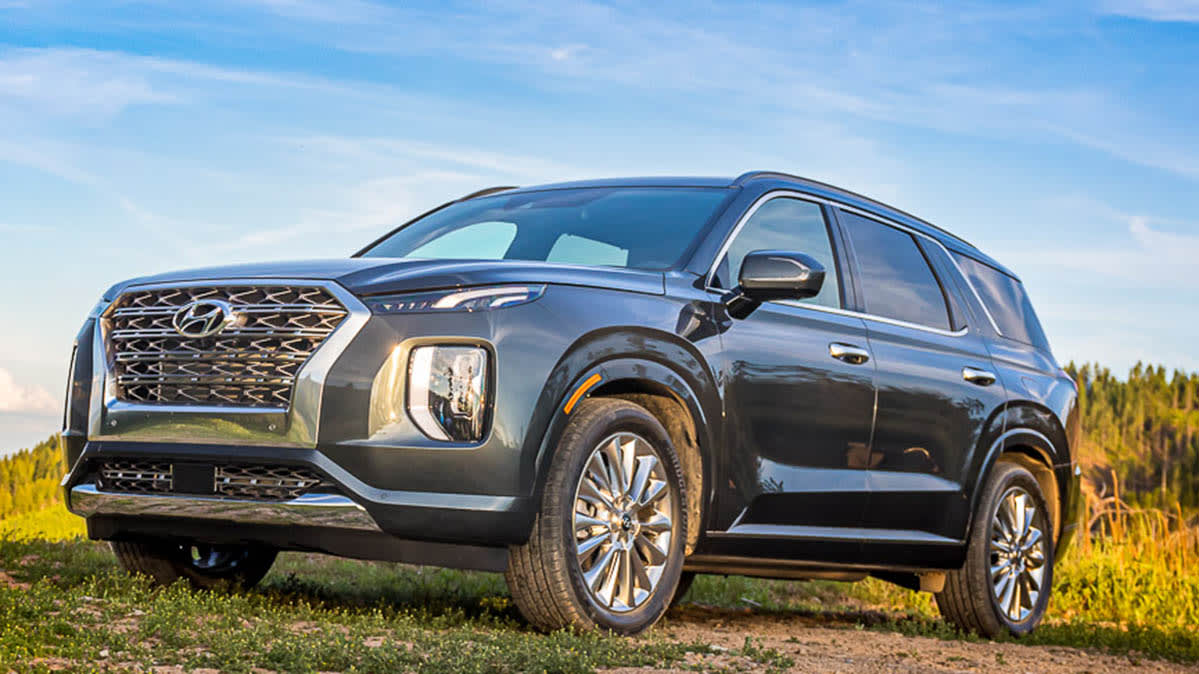 2020 Hyundai Palisade with rear occupant alert
