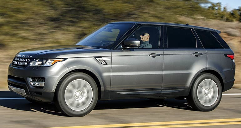 2016 Land Rover Range Rover Sport driving