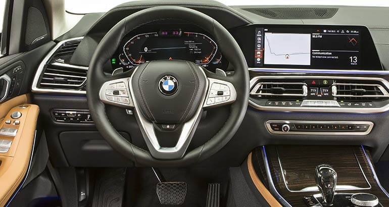 Sensational 2019 Bmw X7 Is Luxurious Large And In Charge Consumer Squirreltailoven Fun Painted Chair Ideas Images Squirreltailovenorg