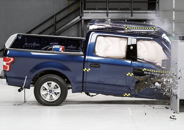 Ford F-150 crash-test pickup