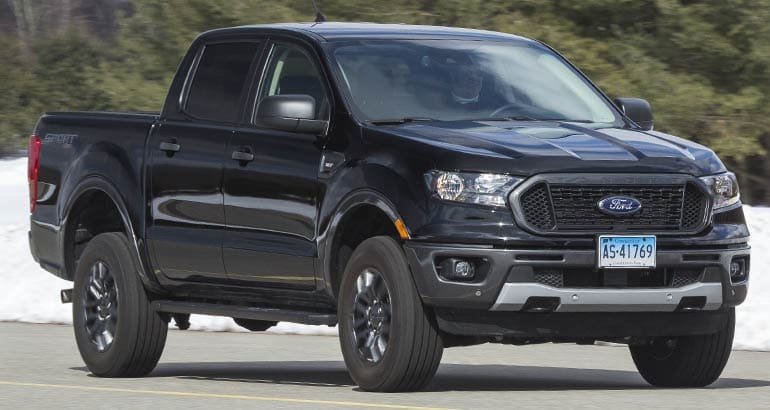 Big Ford Trucks >> All New 2019 Ford Ranger First Drive Review Consumer Reports