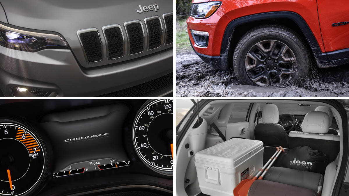 Jeep Compass Vs Jeep Cherokee >> Jeep Cherokee Vs Jeep Compass Face Off Consumer Reports