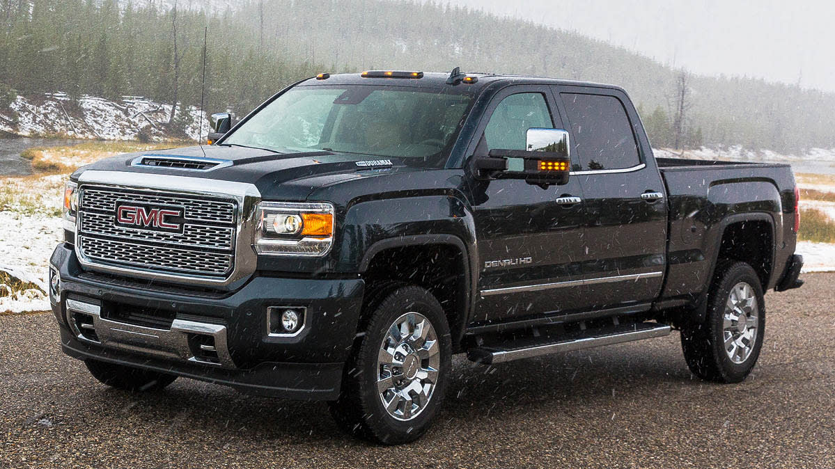 The Chevroletnand GMC pickup recall includes the 2019 GMC Denali HD