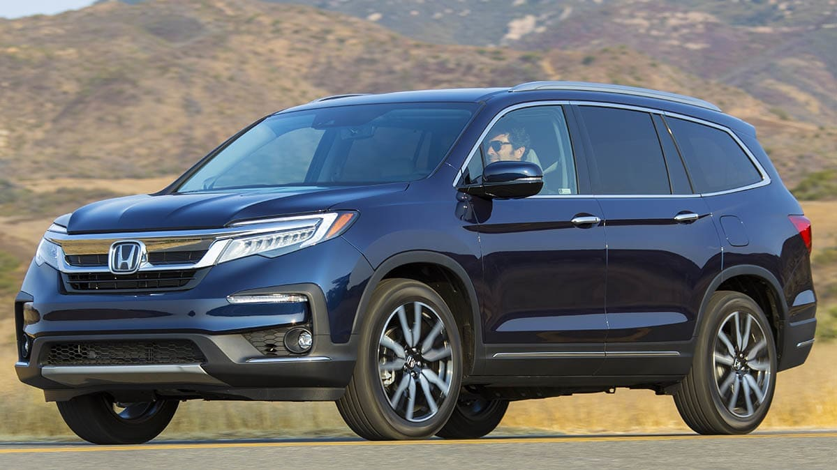 Best and Worst Cars for Tall and Short Drivers includes the Honda Pilot