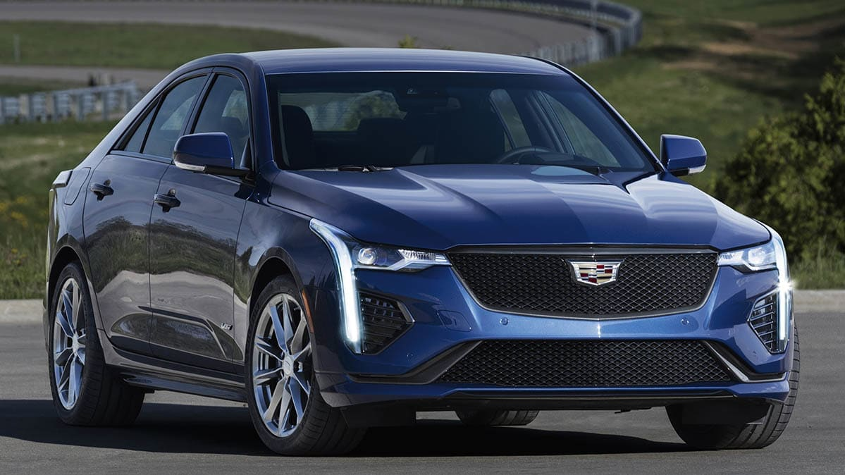 sporty 2020 cadillac ct4 sedan joins luxury lineup
