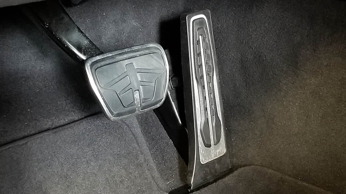 Brake pedal Throttle-Override Safety Feature