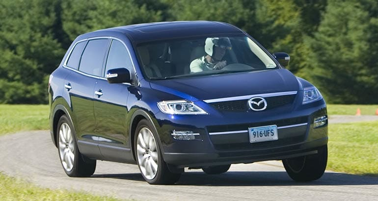2008 Mazda CX-9 recalled for airbag replacement