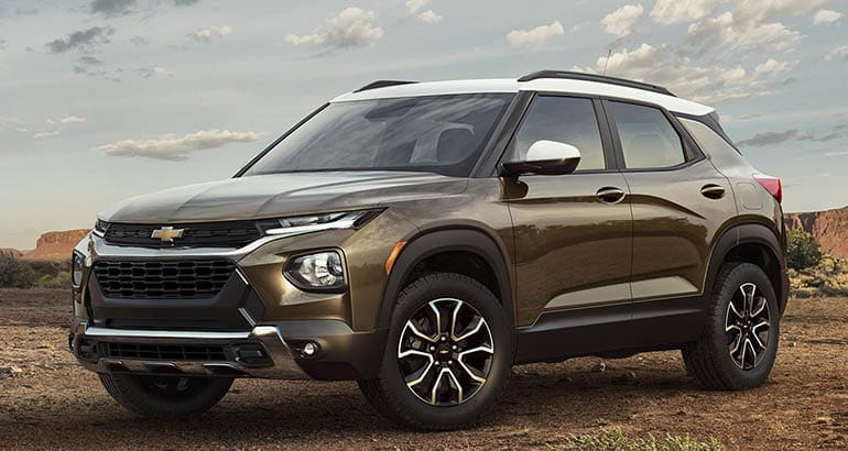 2021 Chevrolet Trailblazer Follows Small SUV Path ...