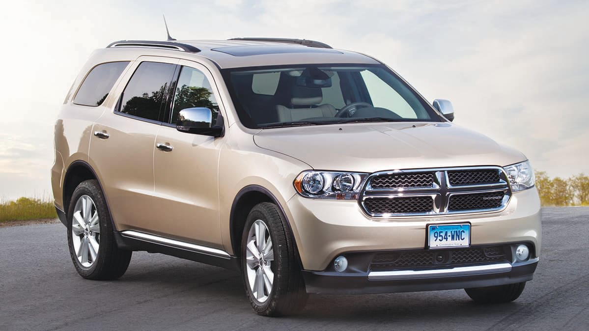 2011 Dodge Durango recalled