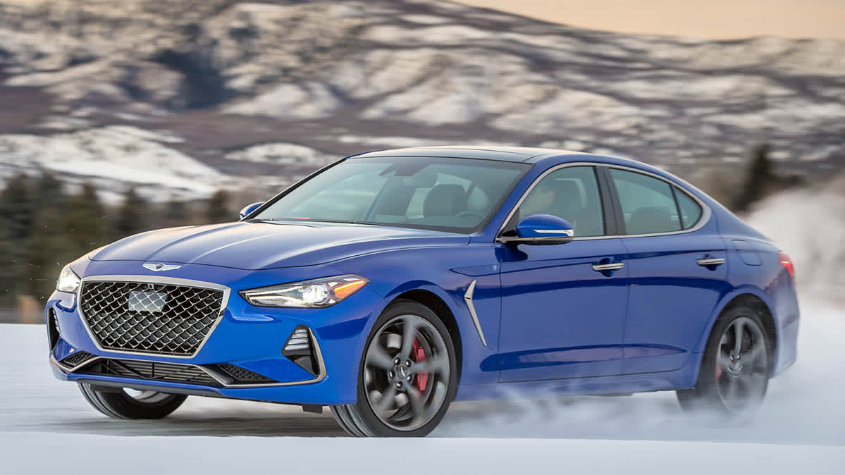Best All-Season Tires for Winter Driving - Genesis G70