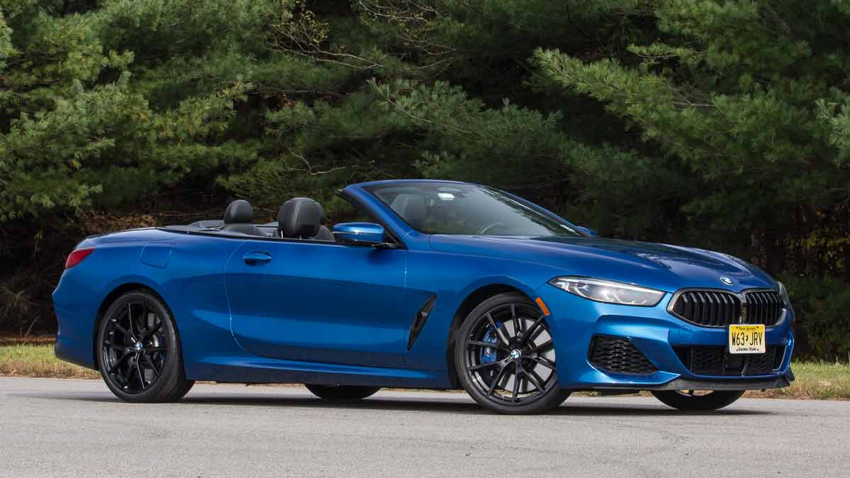 The BMW 8 Series--M850i xDrive convertible