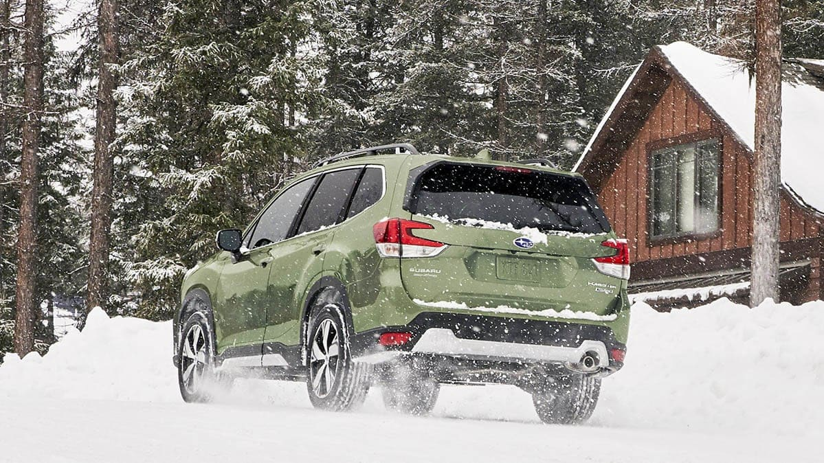 Best All-Wheel-Drive SUVs in the Snow include the Subaru Forester