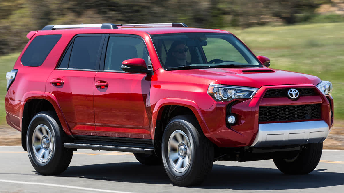 Toyota Recall includes the 2014 Toyota 4Runner
