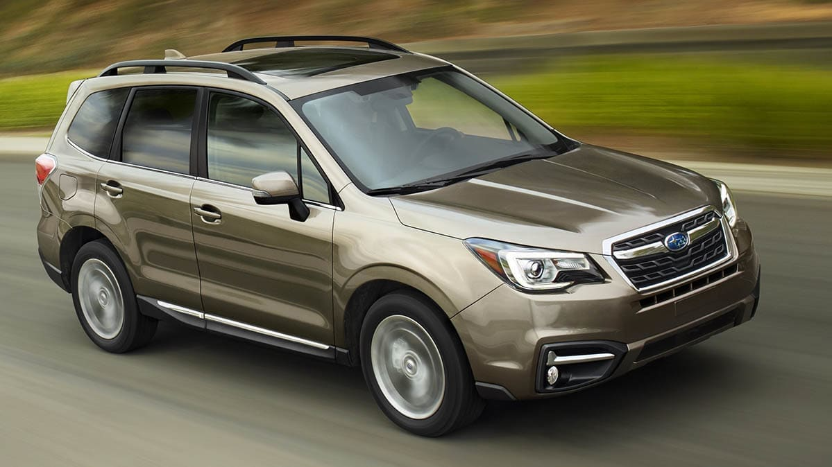 Subaru recalling Foresters because of issues with airbag