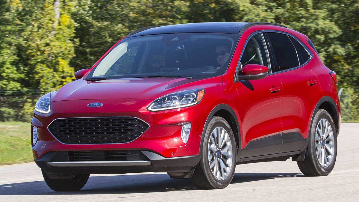 2020 Ford Escape History
