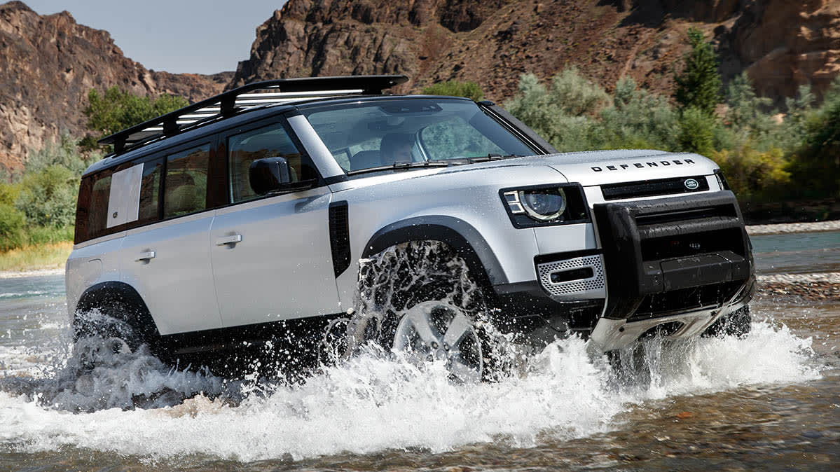 Land Rover gives its iconic Defender a modern overhaul