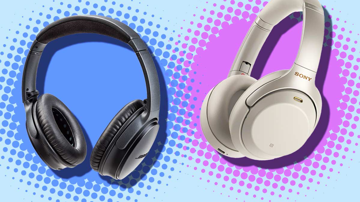 Noise-Canceling Headphones Face-Off: Bose vs  Sony