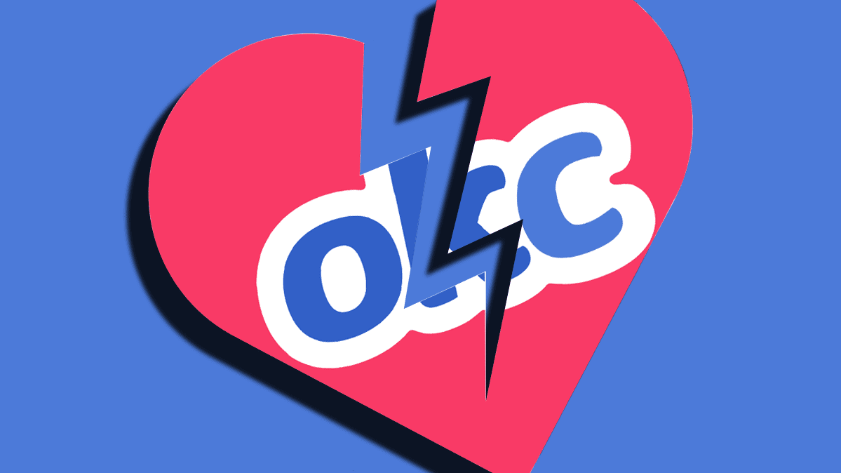 An illustration of the OkCupid dating app logo