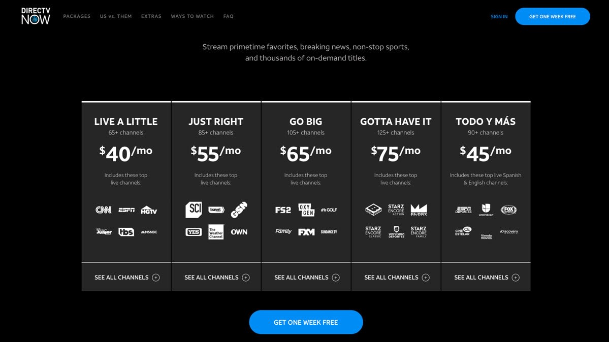 Is DirecTV Now Still a Good Deal for Consumers? - Consumer