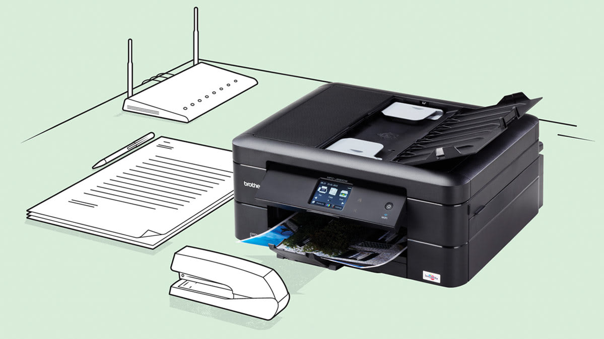 A Brother printer, one of the most reliable printer brands in multiple categories.